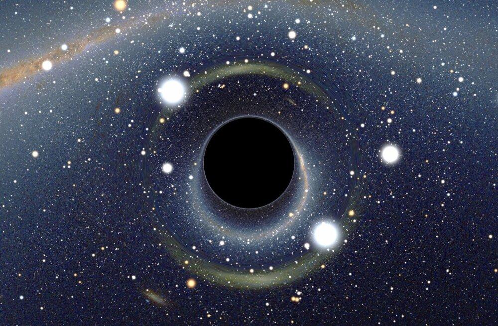 Kui palju universumis musti auke on? Röntgenteleskoop annab jahmatava vastuse