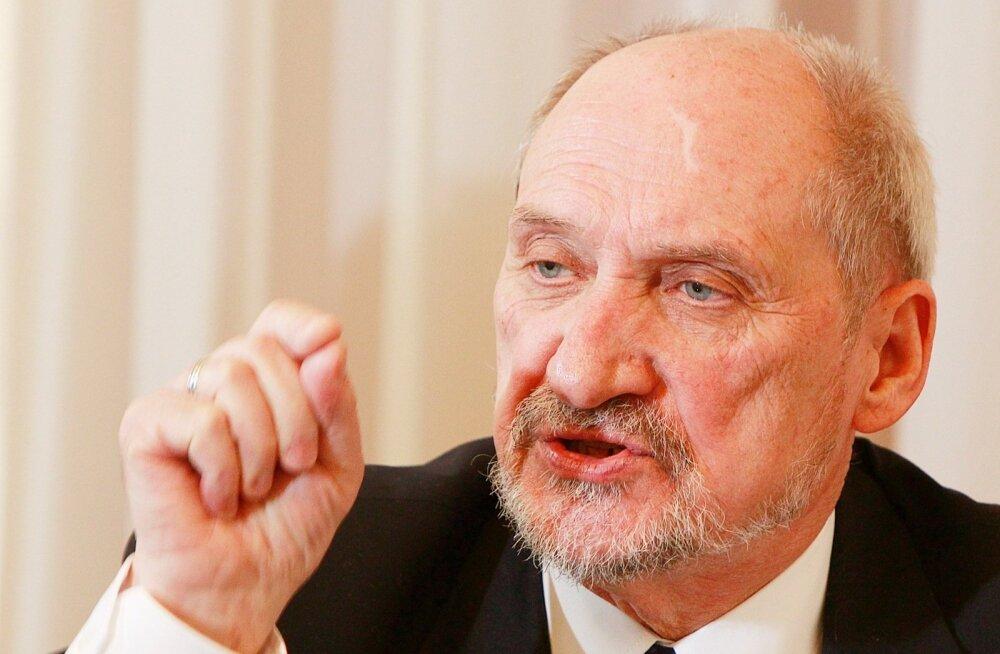 Poola kaitseminister: Venemaa valmistub süstemaatiliselt agressiooniks