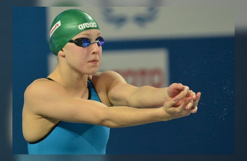 Rūta Meilutytė fenomen: Leedu maailma neljas ujumisriik!