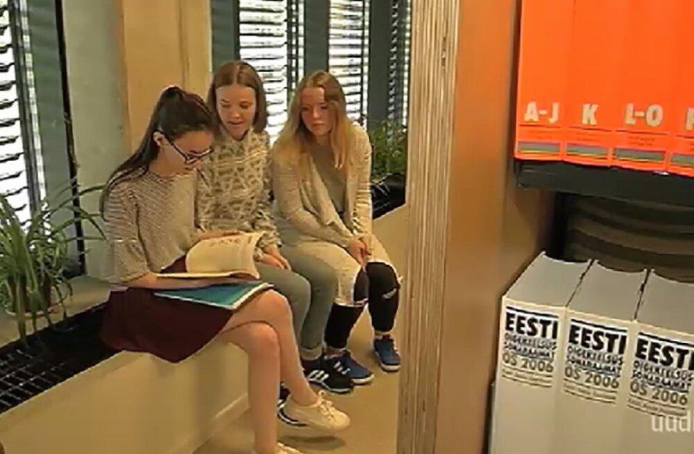 VIDEO: Viljandi Gümnaasiumis hakkab korea keelt õpetama Eesti tüdruk, kes keele iseseisvalt ära õppis