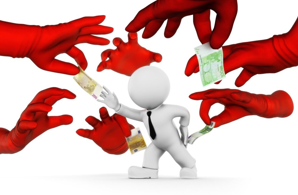 Säh sulle selget maksusüsteemi: riik hakkab taga otsima kümneid tuhandeid inimesi, kes peavad tagasi maksma miljoneid eurosid