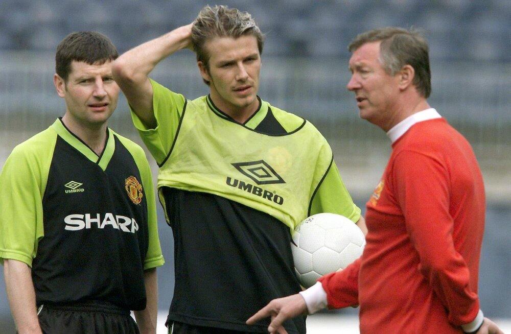 David Beckham meenutas, kuidas Sir Alex Ferguson käskis tal WC-s juuksurit mängida