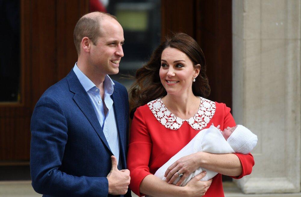 FOTOD   Nagu ema suust kukkunud! Teist sünnipäeva tähistavat prints Louisi näidati üle pika aja avalikkusele