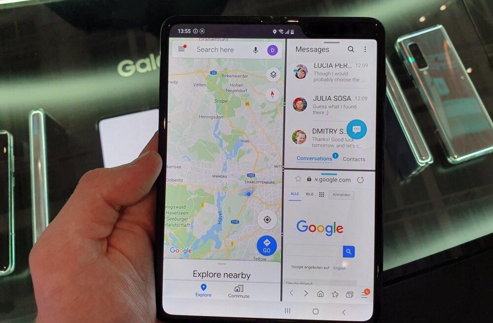 FORTE BERLIINIS | Samsungi voldiktelefon on tagasi ja tuleb müügile juba varsti