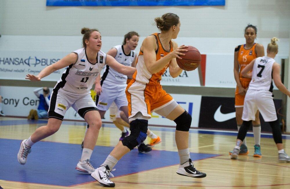 Naiste korvpallikoondise EM-valikmäng Hollandiga