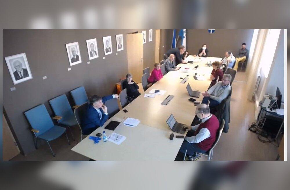 Harku vallavolikogu koosolek