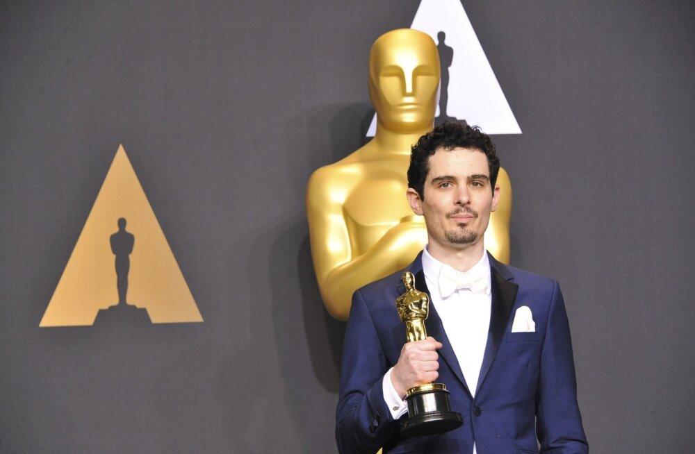 """Rekord: 6 kuldmehikest võitnud """"La La Landi"""" režissöör on Oscarite ajaloo noorim parima lavastaja auhinna võitja"""