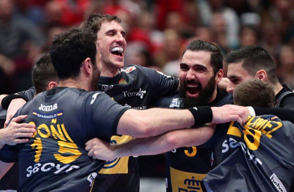 Käsipalli EM-finaalturniiril selgusid poolfinalistid