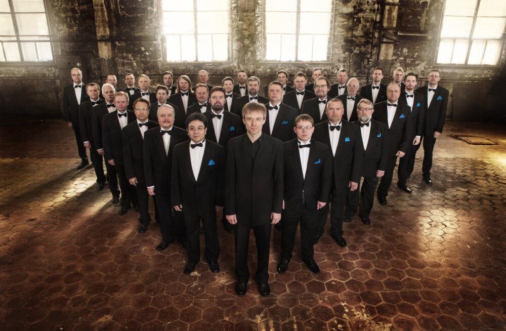 Эстонский национальный мужской хор засияет славянскими красками перед поездкой в Москву