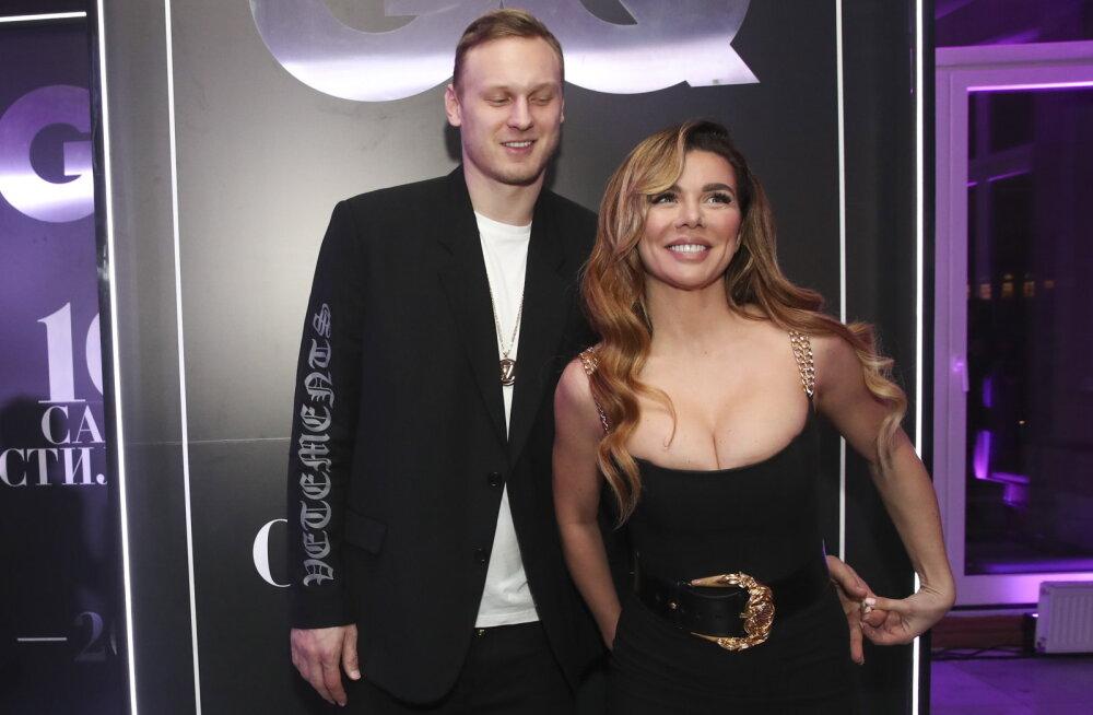 FOTO   Kõmulise minevikuga Läti korvpallistaar Janis Timma palus naiseks kuulsa Ukraina lauljatari