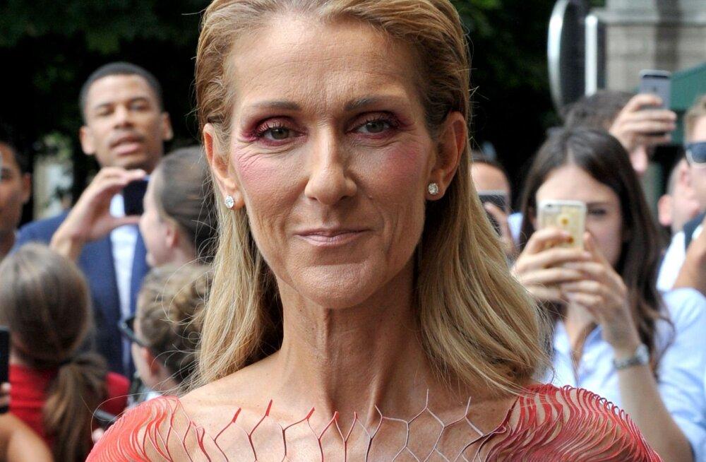 KUUM KLÕPS   51-aastane Celine Dion teeb silmad ette ka endast aastaid noorematele