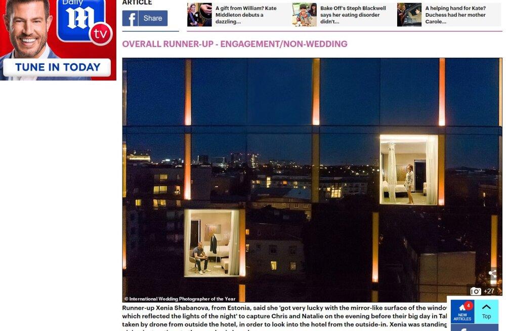 Об успехе эстонского фотографа написало легендарное британское издание Daily Mail