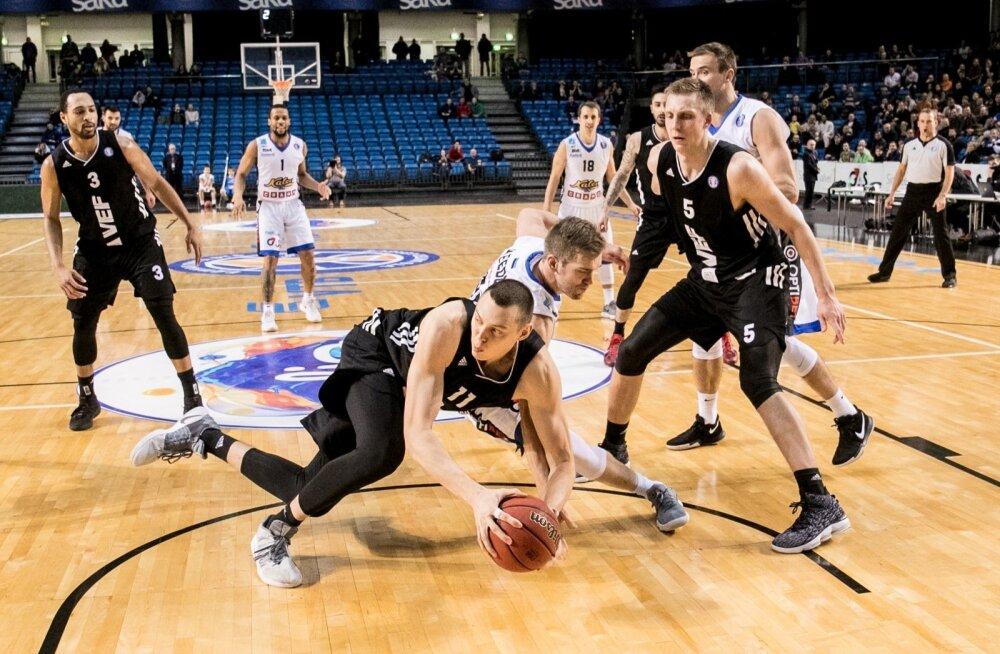 Kui Eesti ja Läti ühisliigast saab asja, on Kalev/Cramol ja Riia VEF-il põhjust hooaja jooksul neli korda kohtuda.
