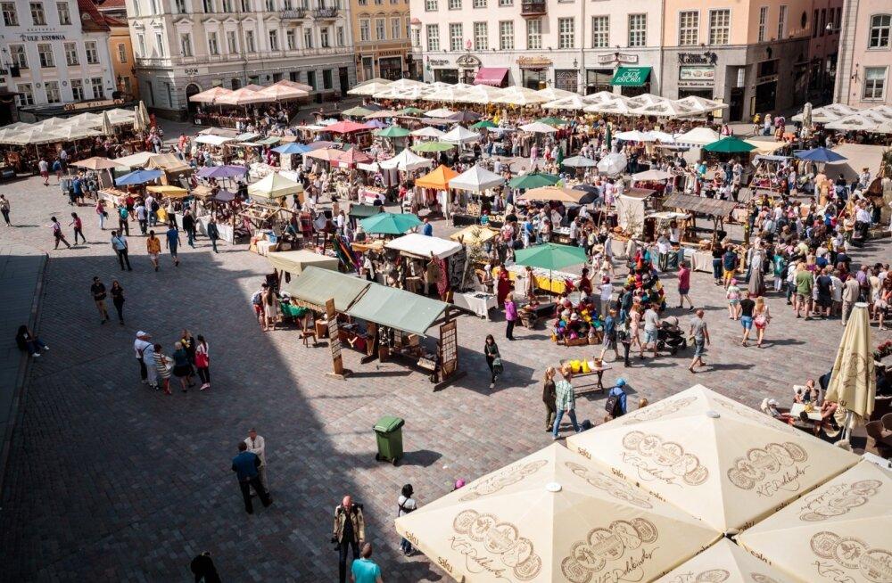 Turismil läks hästi: septembris suurenes oluliselt nii sise- kui välisturistide arv