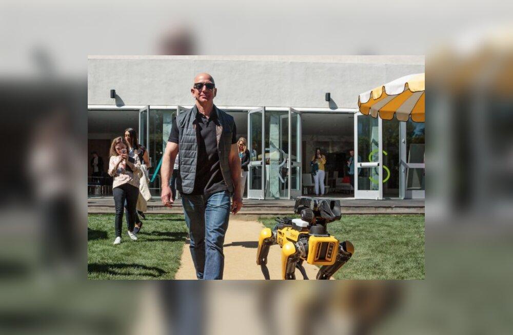 Maailma jõukaim mees käis robotkoeraga jalutamas