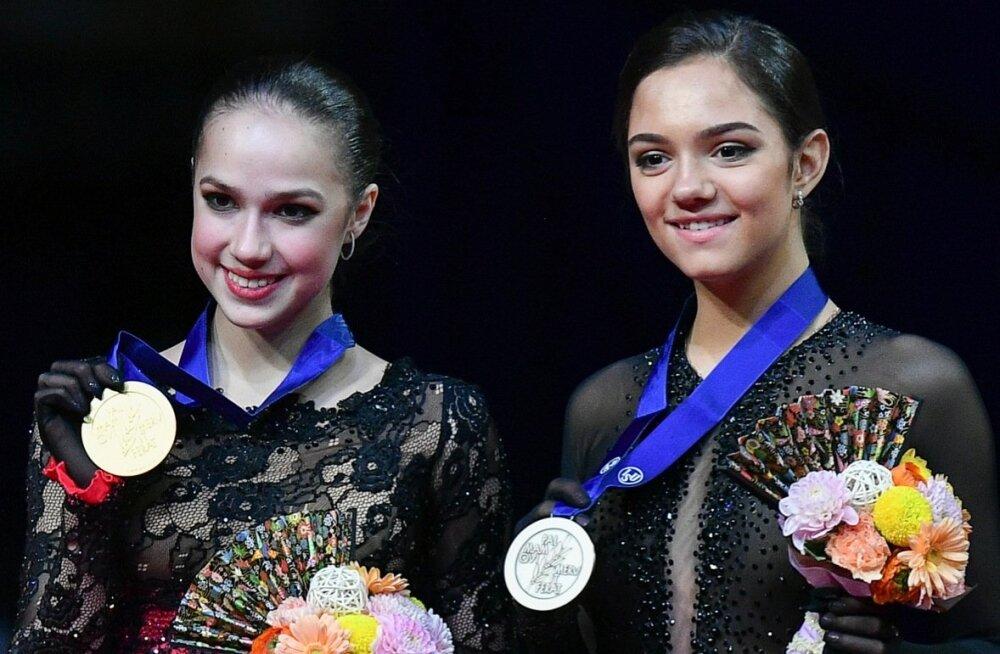Alina Zagitova ja Evgenia Medvedeva