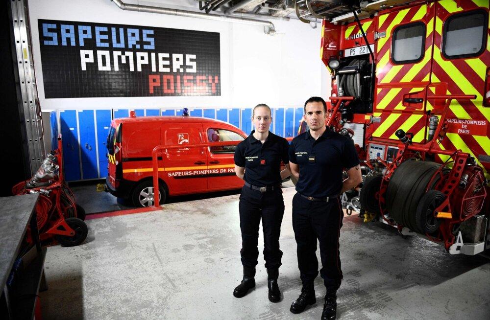 Prantsusmaal austatakse täna kogu päeva Jumalaema kiriku tuletõrjujaid