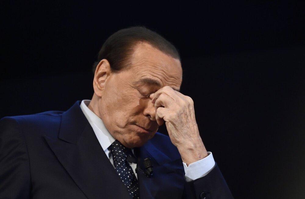 Berlusconi läheb bunga-bunga pidude eest uuesti kohtu alla