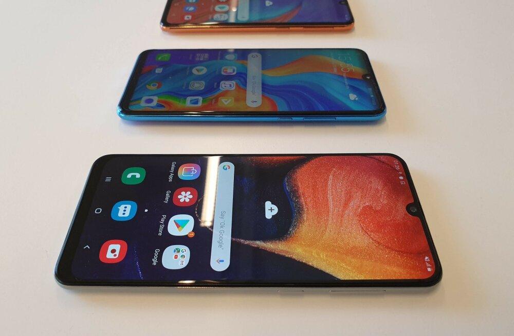 Huawei ja Samsungi odavtelefonid