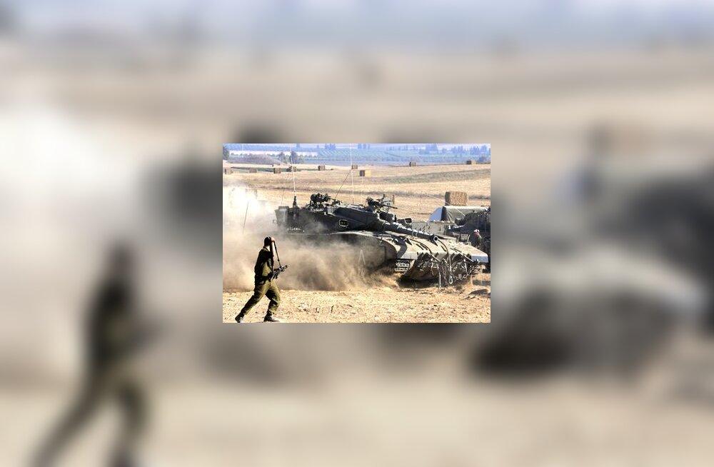 Iisraeli tank Gazas