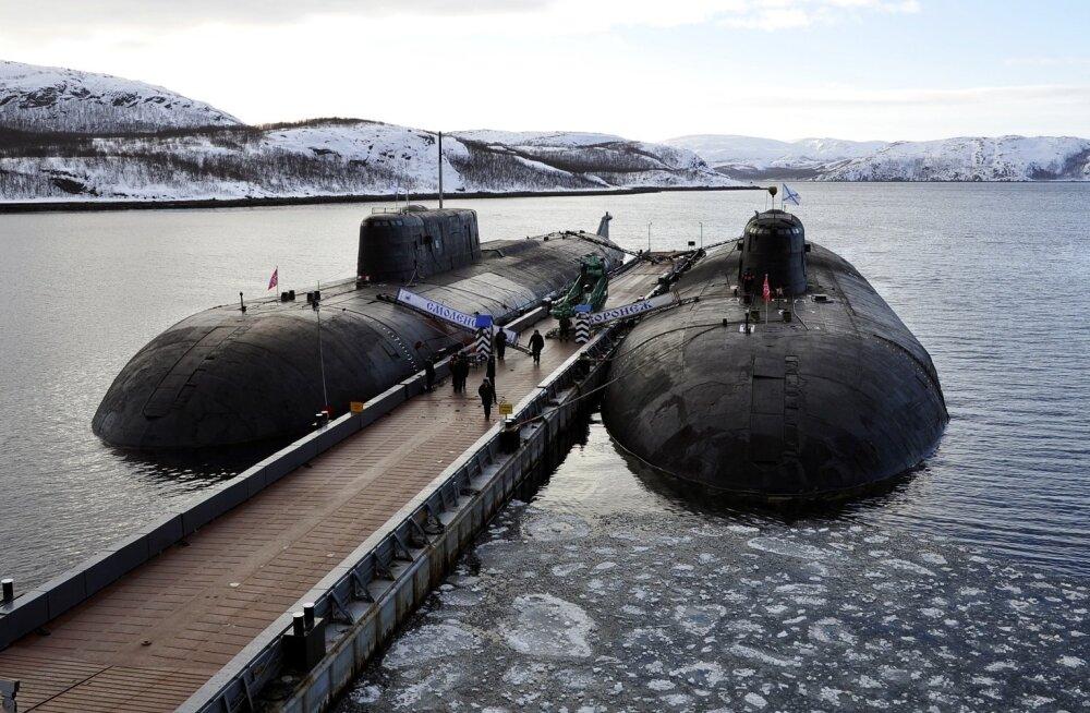 Tuumaallveelaevad Smolensk ja Voronež
