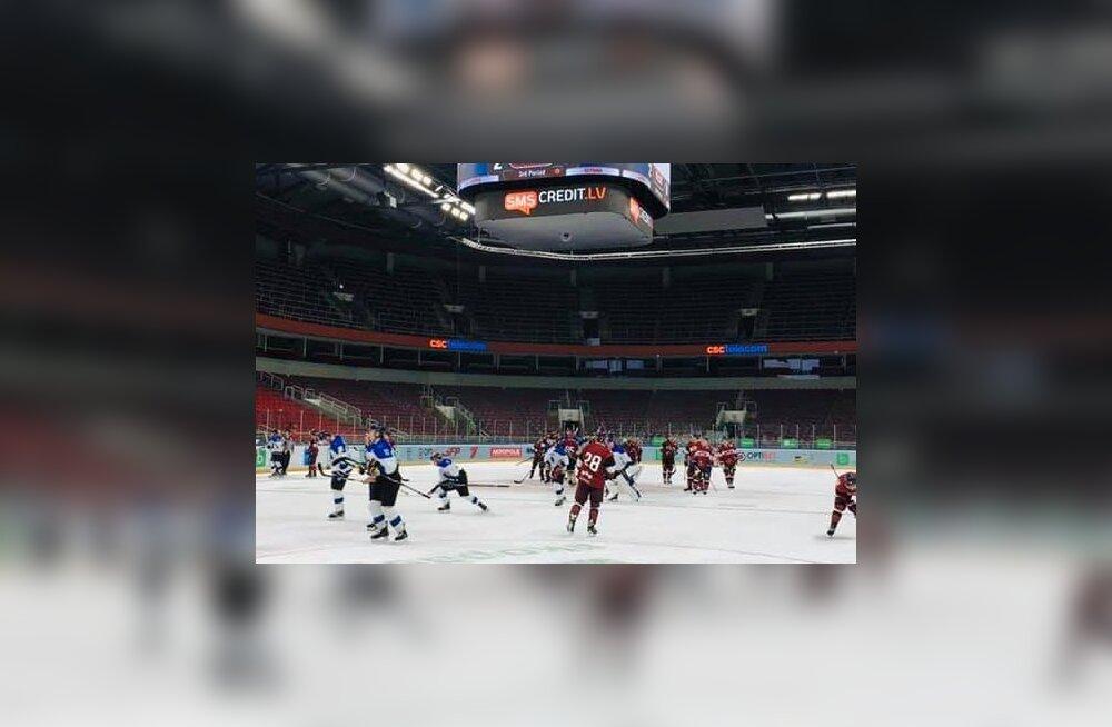 Hokikoondis sai koduse MM-i eel Lätist kaks kaotust