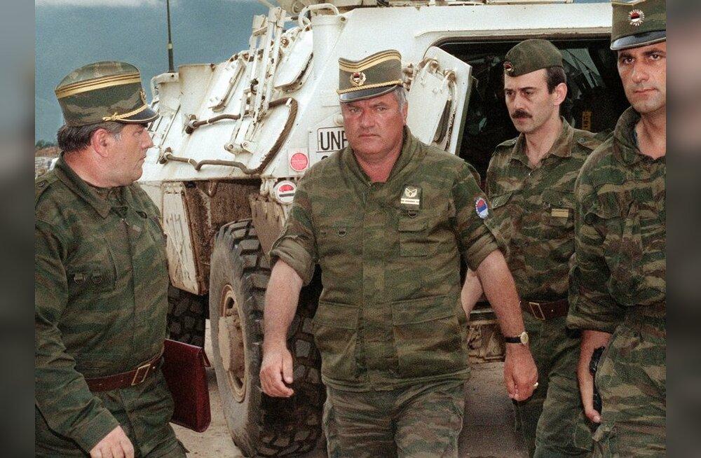 Serbia president: vahistati kindral Ratko Mladić