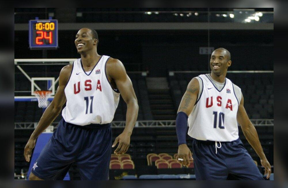 VIDEO: Kobe Bryant hakkas Howardi lahkumisest rääkides ropendama
