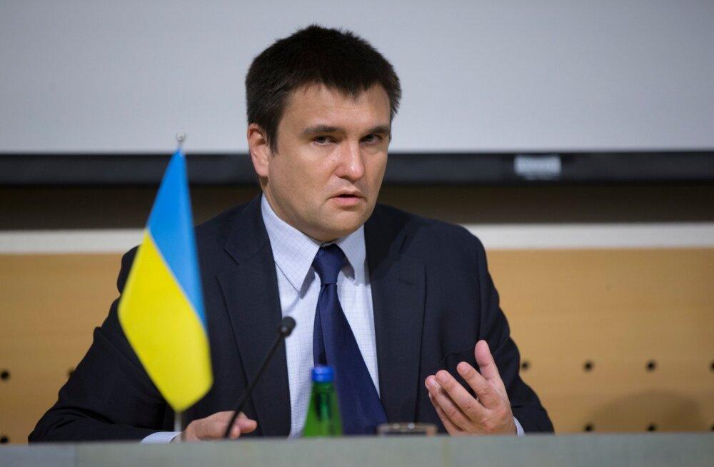 Ukraina ja Eesti välisministri ühine pressikonverents