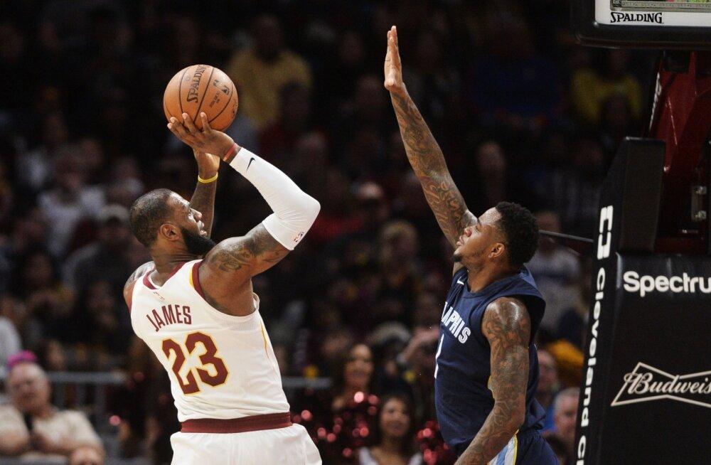 Cleveland Cavaliersi LeBron James