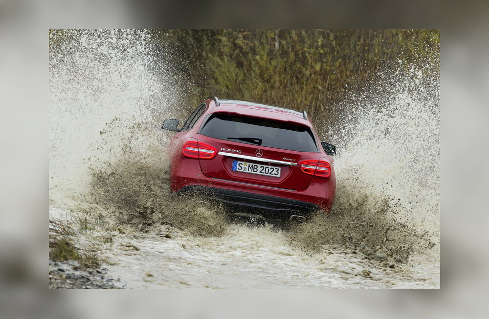 Proovisõit: Mercedes-Benz GLA – pisimersust väikemaastur