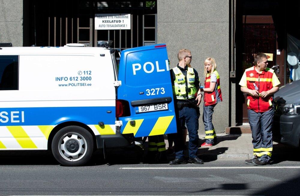 Tulistamine Tallinna kesklinnas, Pärnu maanteel
