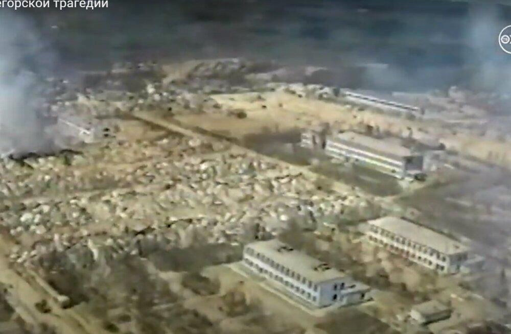 TAGASIVAADE | Katastroof pühkis Vene linna 27 sekundiga maa pealt