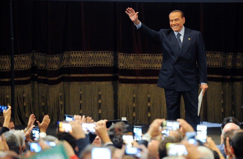 Silvio on õnneks jälle siin. Itaalia ekspeaminister Silvio Berlusconi kohtus möödunud nädalal Sitsiilias Palermos rahvaga.