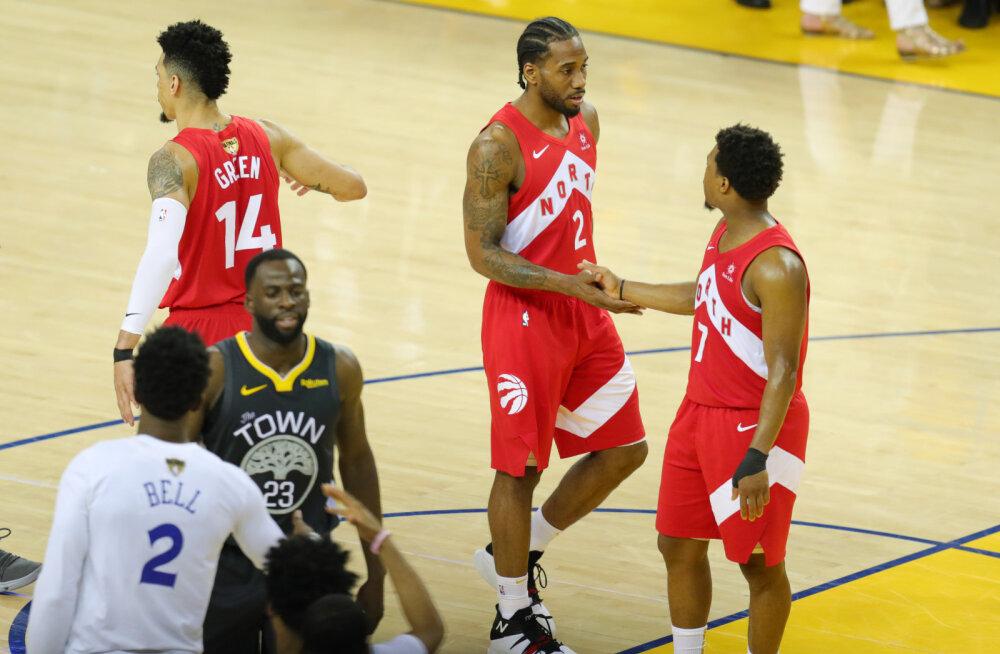 VIDEO | Kawhi Leonard vedas Raptorsi ühe võidu kaugusele ajaloolisest NBA tiitlist