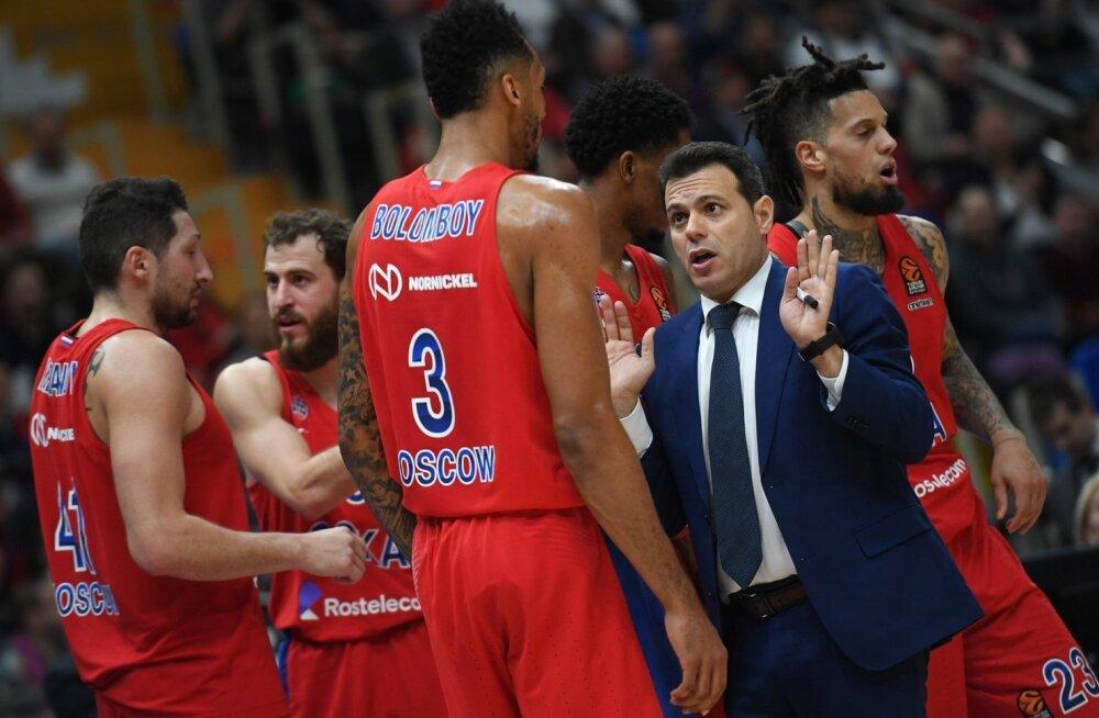 CSKA peatreeneril Dimitris Itoudisel on põhjust hoolealustega pragada.