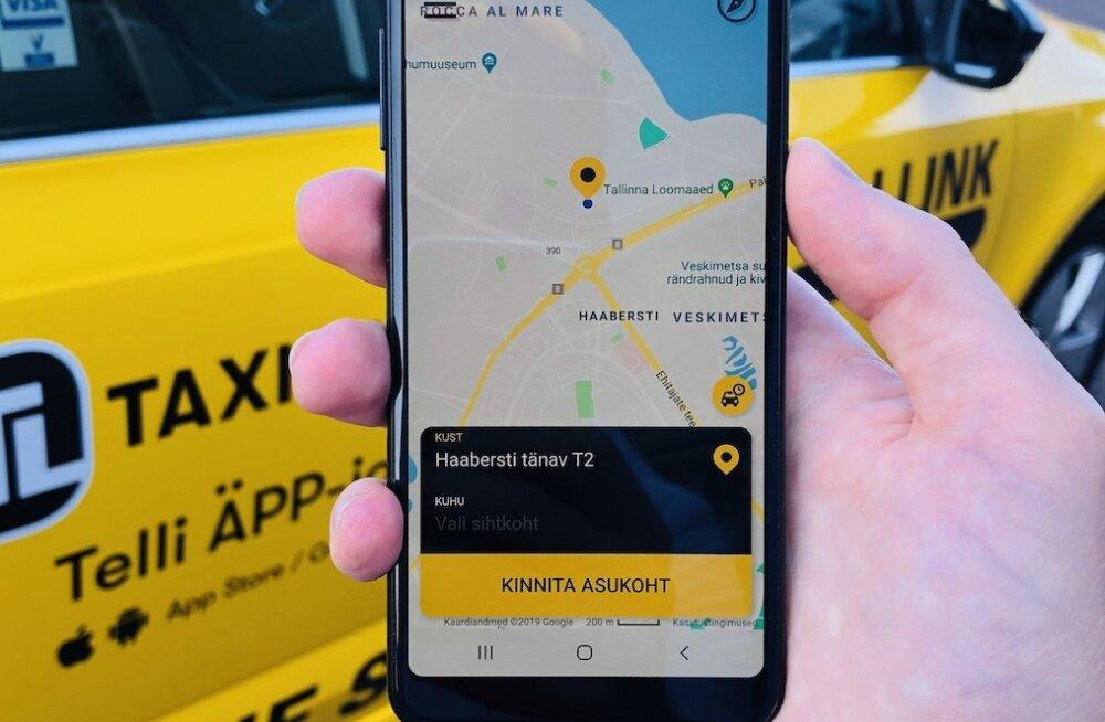 Tallink переходит на новое приложение для заказа такси