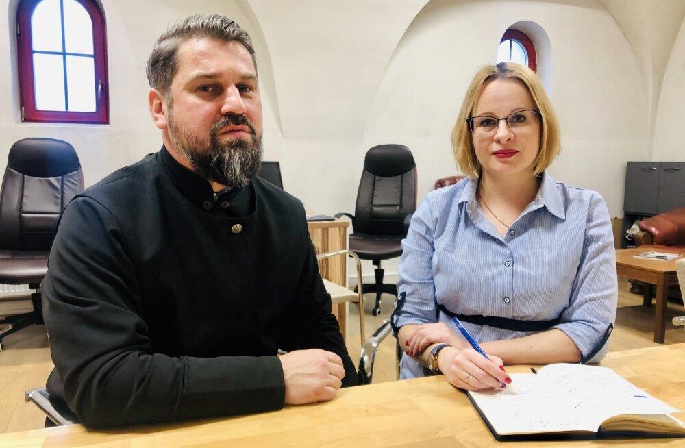 Юферева-Скуратовски: Ласнамяэская церковь притягивает молодежь
