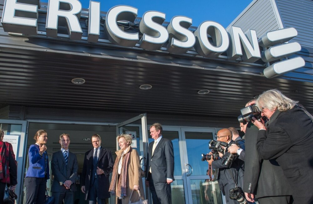 Rootsi printsess Victoria külastas Ericssoni tehasest eelmise aasta sügisel.