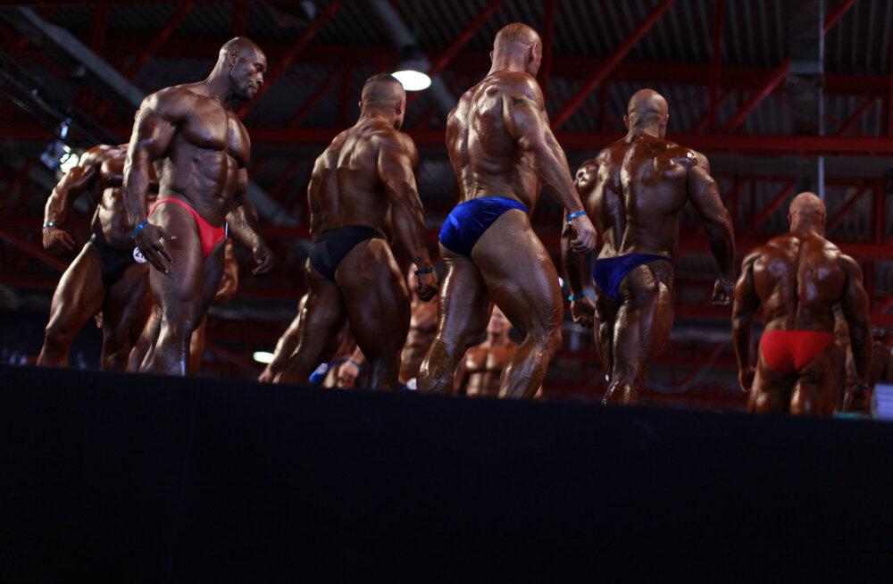 Hispaania kulturismivõistlus jäi ära, sest osalejad põgenesid dopinguküttide hirmus saalist