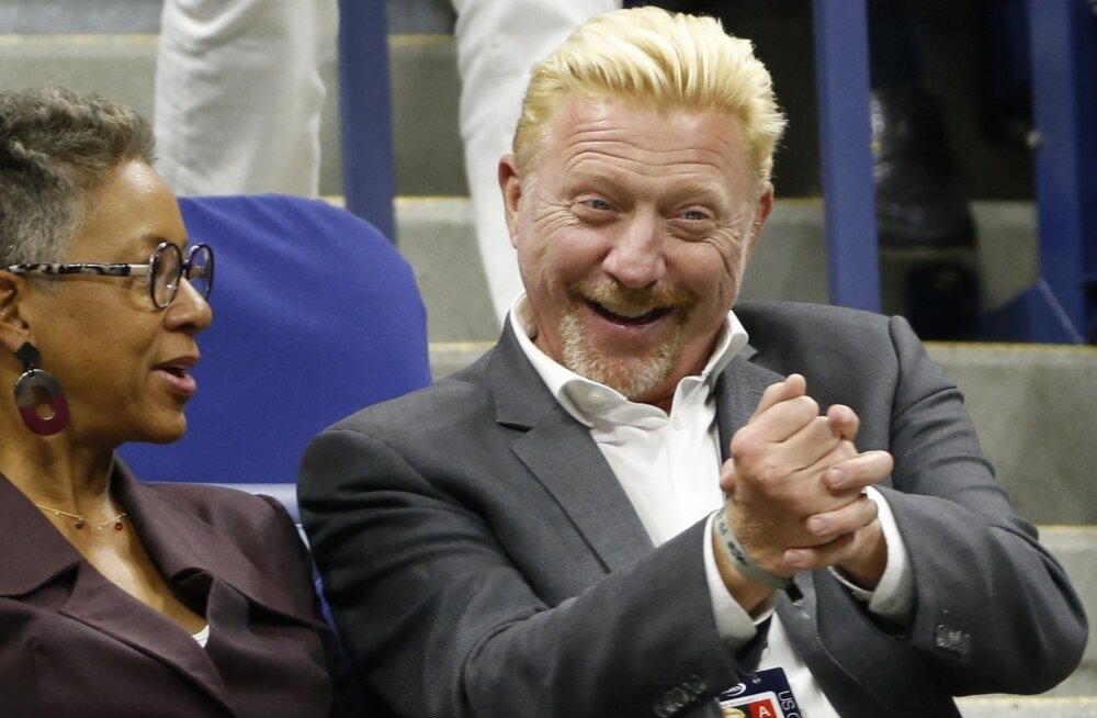 Boris Beckeri naer läbi pisarate?