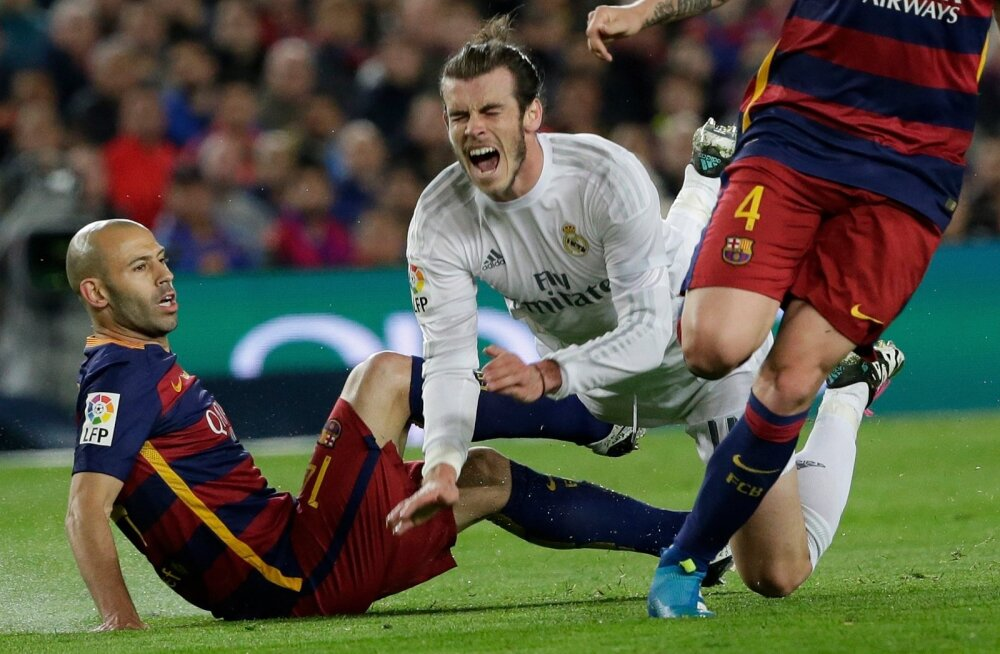 Javier Macherano, Gareth Bale