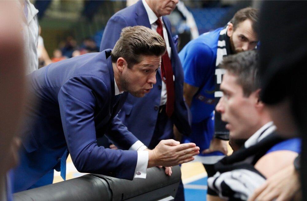 Kalev/Cramo peatreeneri Donaldas Kairyse õpetussõnad ei päästnud seekord meeskonda kaotusest.