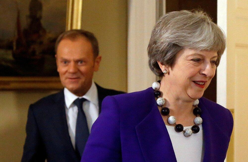 Diplomaadid: Euroopa Liit pakub Suurbritanniale Brexiti üleminekuaja pikendamist aasta võrra