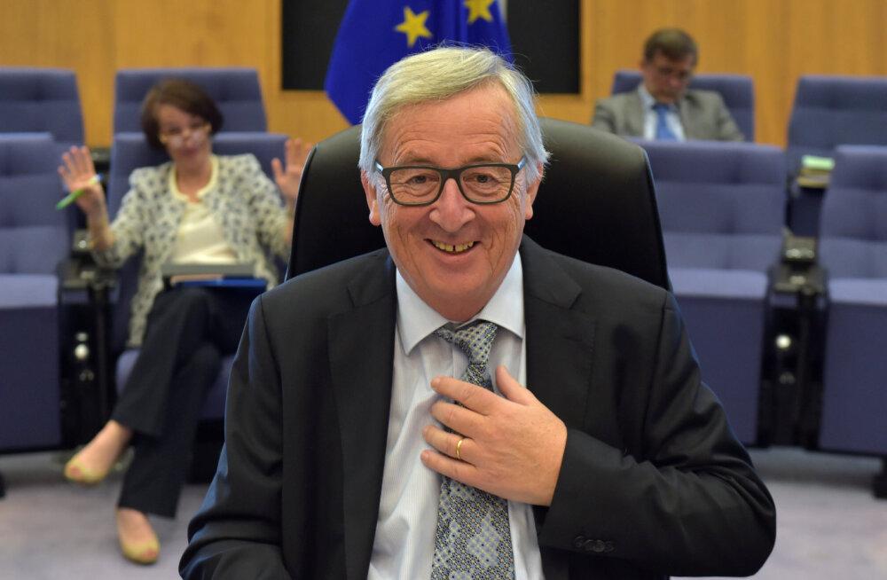 Juncker tahab Hiinale Euroopa firmade ülesostmisel piduri peale tõmmata