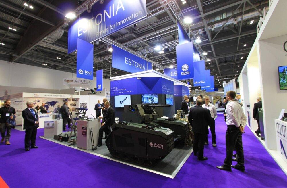 Eesti kaitsetööstus näitab end maailma juhtival relvamessil Londonis