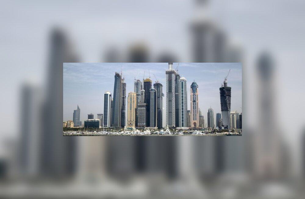 Dubai (mitte küll tükk sellest panoraamfotost)