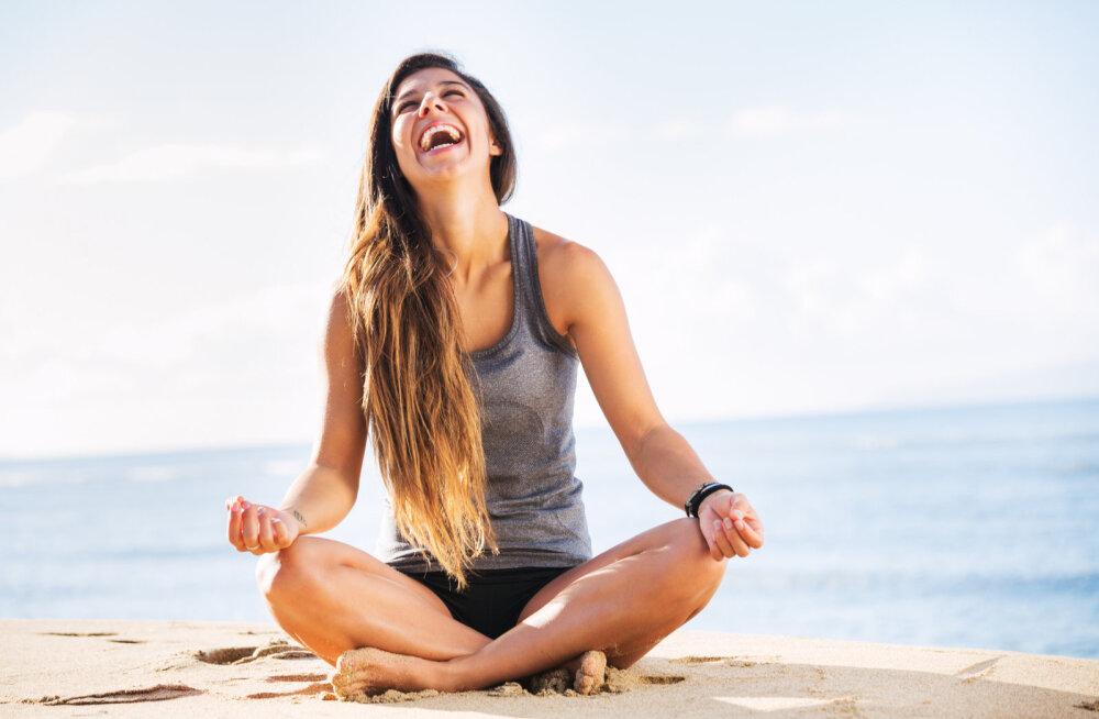 Head naljapäeva: naermine mõjub kui ravi ja meditatsioon