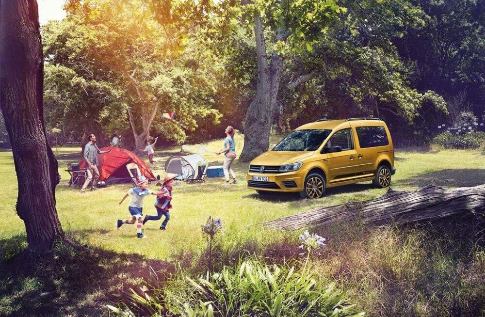Perele mõeldud Volkswagen Caddy Family uuenes