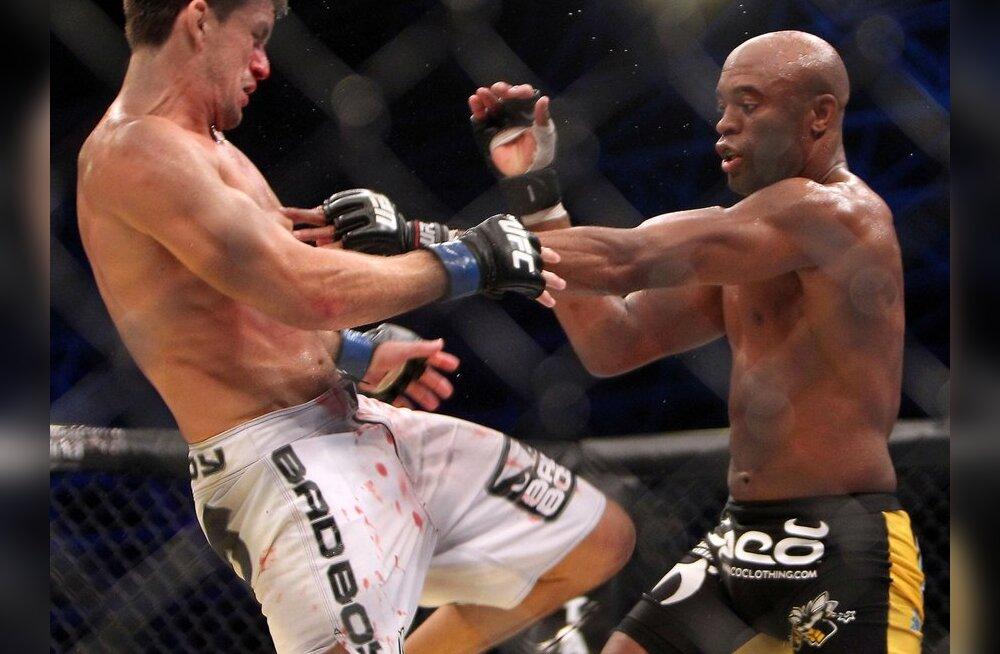 VIDEO: UFC 122: Okami astus suure sammu tiitlimatši poole